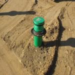 Abwasserrohr mit Verschluss