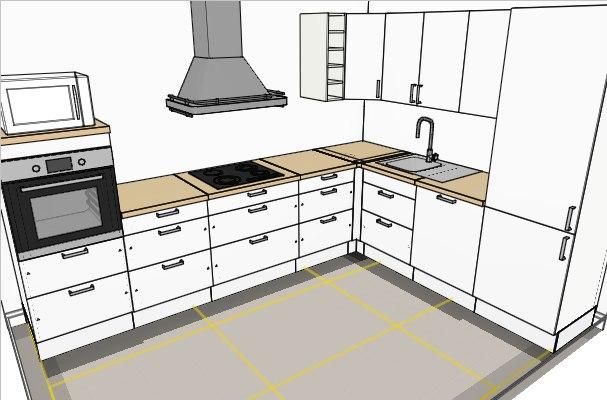 Küchenschränke maße  Ikea Eckschrank Küche | trafficdacoit.com - Hausgestaltung Ideen
