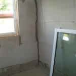 Das Küchenfenster in zwei Teilen
