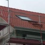 """Unser vorderes Dachfenster hat noch zwei """"Rettungsstufen"""" erhalten"""