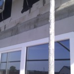 Rollladen-Dämmung beim Terrassen-Fenster