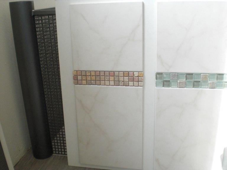 Bemusterung Beim Fliesenleger ? Passivhaus-bautagebuch Bordüre Badezimmer
