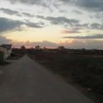 Sonnenuntergang, den wir hoffentlich schon bald von unserem Dachfenster aus bestaunen können