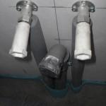 Wasseranschluss für Spüle und Spülmaschine in der Küche