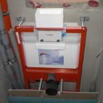 Spülkasten im Gäste-WC