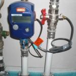 Messgerät im Bereich der Heizungsleitungen - was misst es? Den Verbrauch?