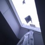 Und hier noch das Dachfenster auf der anderen Seite