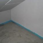 Diese Ecke im Dachgeschoss ist mittlerweile komplett trocken