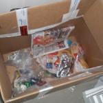 Müllkarton in unserem Wohnzimmer - ohne BILD-Zeitung geht offenbar nichts... ;-)