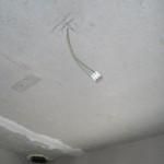 Lampen-Deckenauslass mit Lüsterklemme