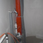Wasserhahn für die Waschmaschine