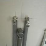 Wasserzuführung für Waschbecken und Spülmaschine in der Küche