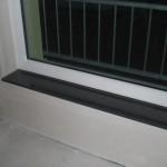 Die Fensterbank ist da und auch eingebaut! :-)
