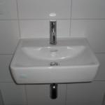 Waschbecken im Gäste-WC