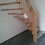 Treppe im Erdgeschoss