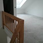 Treppenbrüstung im Dachgeschoss