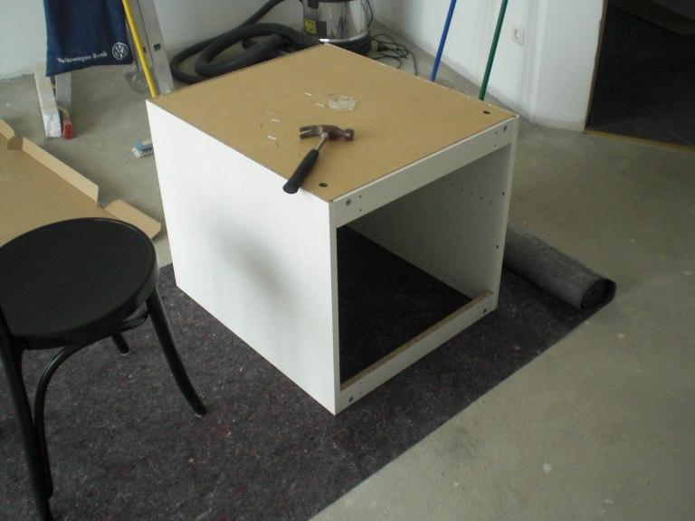 Ikea Einbau Kühlschrank Unterschrank ~ Aufbau unserer IKEA Küche, Teil 1 Die Korpusse › Passivhaus