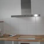 Fertig - nur das Kochfeld fehlt noch. :-)