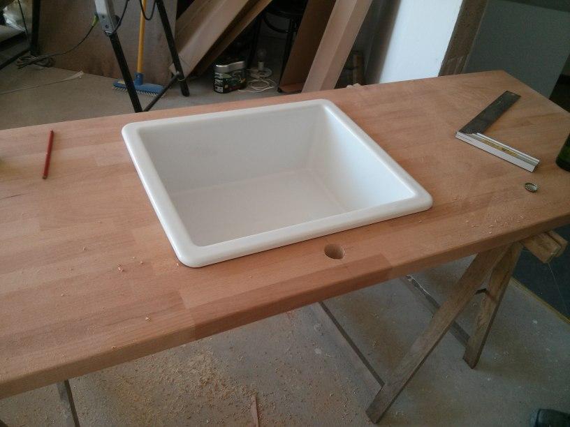 aufbau unserer ikea-küche, teil 2: befestigungen ... - Ikea Arbeitsplatte Küche