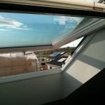Das Dachfenster im alternativen Öffnungsmodus