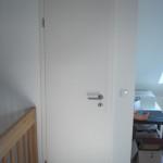Die schmalste Tür führt zur Lüftungsanlage