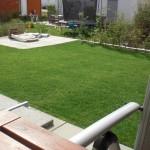 Schöne Rasenfläche - nach dem Mähen umso mehr