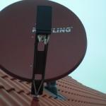Unsere neue Satellitenschüssel von Kreiling