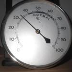 Niedrige Luftfeuchtigkeit