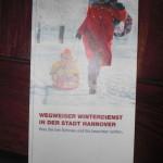 Broschüre der Stadt Hannover, die an die Räumpflicht erinnert