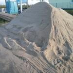 Feiner Sand als Untergrund