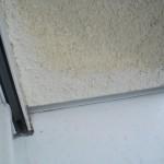 Und im Dachgeschoss blasser als die übrige Fassade