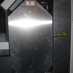 Eingebauter Wärmetauscher in der Frontansicht