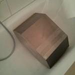 Wärmetauscher in der Badewanne