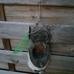Im grünen Netz bzw. im Eulenloch befand sich der gestohlene Knödel